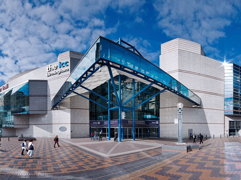 The International Convention Centre