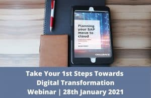 Take your 1st steps towards digital transformation 28th January 2021